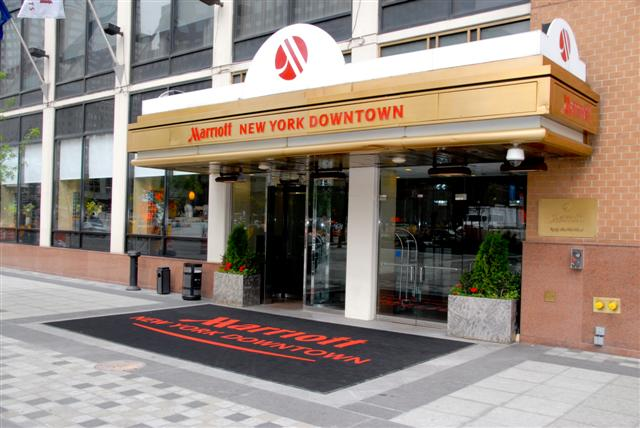 Image result for New York Marriott Downtown, best hotels in NYC